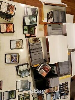 Huge All Standard MTG lot 50+ RARES/MYTHICS! Sealed decks! Foils! Magic cards