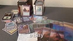Huge MTG Magic the Gathering Collection Thousands of Mythics, Rares and Foils