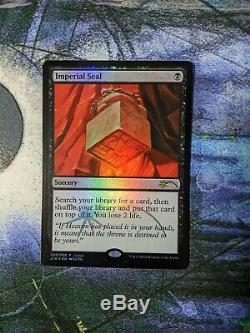 Imperial Seal (Judge) Near Mint Foil English Magic Card Promotional Cards MTG