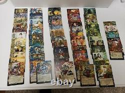 Japanese Etched Foil Strixhaven Mystical Archives Complete Set All 63 MTG NM