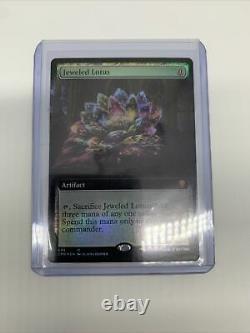 Jeweled Lotus -NM- Commander Legends MTG Artifact Mythic Rare Full Art Foil