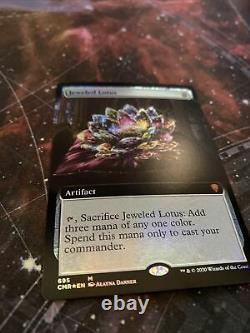 Jeweled lotus extended art foil