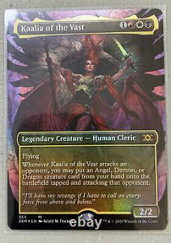 Kaalia of the Vast FOIL Borderless Topper Double Masters VIP Magic mtg