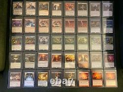 Large Rare Collection of Reserve List, Foils, and Master Set Magic Cards