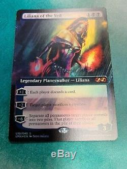 Liliana Of The Veil Ultimate Masters Box Topper Foil LP Magic the Gathering MTG