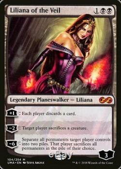 Liliana of the Veil FOIL Single MTG Ultimate Masters Pack Fresh