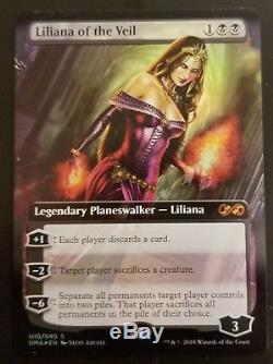 Liliana of the Veil MTG Magic Ultimate Masters Box Topper NM Foil