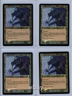Lot of 4 PHYREXIAN NEGATOR Foil Urza's Destiny Magic Card MTG