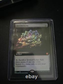 MAGIC THE GATHERING Jeweled Lotus Extended Art MINT Foil MTG Commander Legends