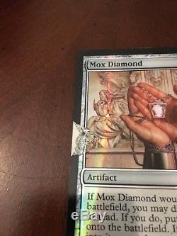 MTG 1X Mox Diamond FTV Relics Foil Legacy EDH Damaged