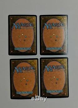 MTG 4x Foil Island Beta Arena (Promo) 2001 Magic The Gathering Near MInt Land
