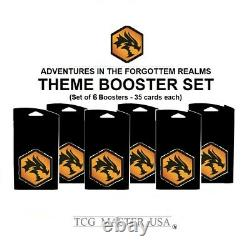 MTG Adventures in the Forgotten Realms Booster Collector Set PR Combo 8 SHIP NOW