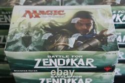 MTG Battle for Zendikar Booster Box with 36 Booster Packs Factory Sealed ENGLISH