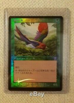 MTG Birds of Paradise 7th Japanese Foil RARE