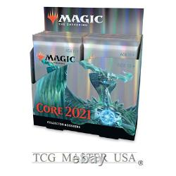 MTG Core Set 2021 Collector Booster Box Display 12 packs with4-5 Rare/Mythics/pack
