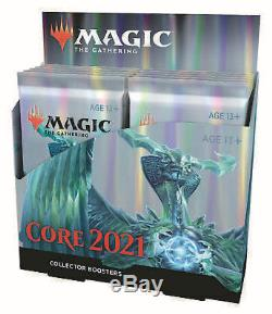 MTG Core Set 2021 Collector Booster Box M21 Brand New! 12 Packs