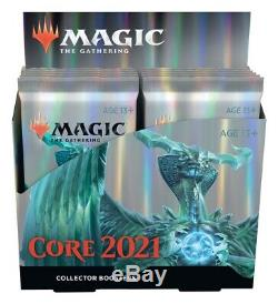 MTG Core Set 2021 Collectors Booster Box (Factory Sealed) (Ships July 3rd)