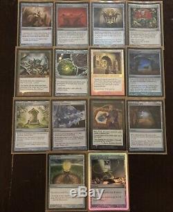MTG Custom Sliver EDH Deck FOIL(Legion/Queen/Cavern of Souls/Crucible of Worlds)
