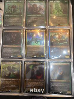 MTG Etched foil commander legends complete set 101/101 magic the gathering