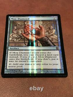 MTG FOIL Mox Diamond From the Vault Relics Magic NM