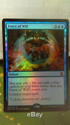 MTG Foil Force of Will EMA M/NM Mythic Rare Magic the Gathering