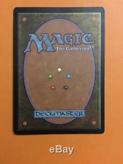 MTG Foil Lightning Bolt Judge Promo DCI Magic the Gathering LP/MP