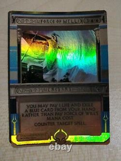 MTG Force of Will Invocation Misprint Foil Magic the Gathering