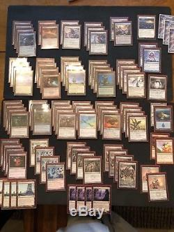 MTG Full Modern Affinity deck NM-LP condition. Full sideboard +extras foil/promo