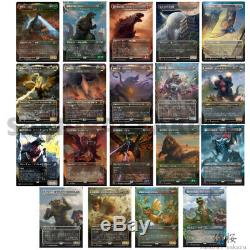 MTG Godzilla Foil Complete Set 18 + 1(Plomo) Ikoria IKO JP Japanese