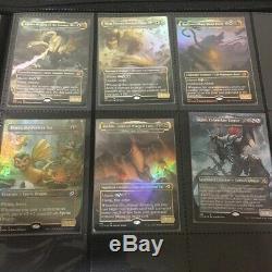 MTG Ikoria Lair of Behemoths Godzilla FOIL Set English Version EN 18 cards