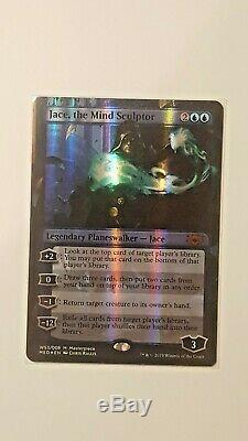 MTG Jace, the Mind Sculptor Mythic Edition MINT never played foil