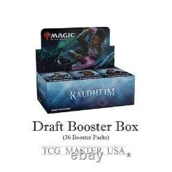 MTG KALDHEIM Draft Booster Display Prerelease Kits-NEW MTG Presale Ship for 1/29