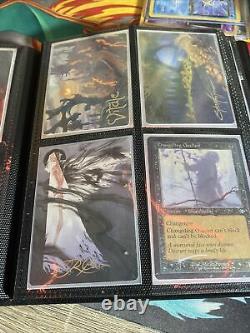 MTG Lot White Cards Binder Collection, Rares, Foils, Mythics, C/Un, Mint, Magic