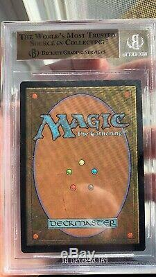 MTG MAGIC THE GATHERING BGS 9.5 GRIM MONOLITH FOIL Urza's Legacy QUAD Make Offer
