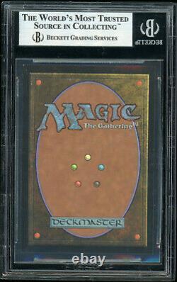 MTG Magic BGS 9 7th Edition Foil Square Cut Serra Angel Miscut