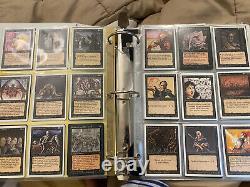 MTG Magic The Gathering Binder + More Lot NM 250+ Cards