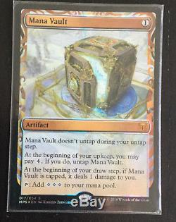 MTG Magic The Gathering Masterpiece Mana Vault Kaladesh Inventions Foil NM