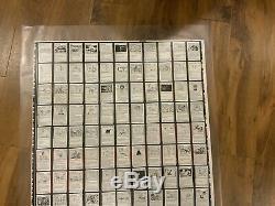 MTG Magic Uncut Sheet Mystery Booster Test Print Card X1 Non-Foil