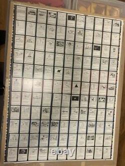 MTG Magic Uncut Sheet Mystery Booster Test Print Card X1 Non-Foil New