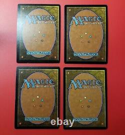 MTG Magic the Gathering 4x x4 Mercadian Masques MMQ Foil Dark Ritual Playset