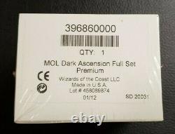 MTG Magic the Gathering Dark Ascension Foil Premium Complete Set Factory Sealed