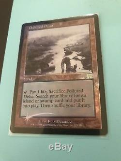 MTG Magic the Gathering FOIL Polluted Delta Onslaught NM