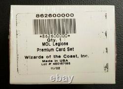 MTG Magic the Gathering Legions Foil Premium Complete Set Factory Sealed