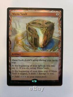MTG Magic the Gathering Mana Vault Kaladesh Inventions Masterpiece Foil Mint
