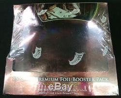 MTG Magic the Gathering Shards of Alara Premium FOIL Booster Pack Box SEALED