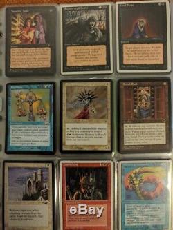 MTG Magic the gathering lotto lot entire collection intera collezione foil