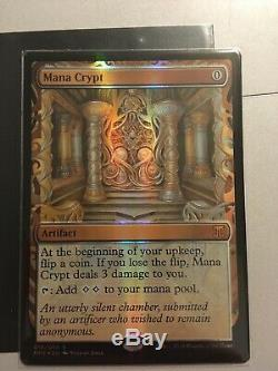 MTG Masterpiece Mana Crypt Kaladesh Invention NM Foil