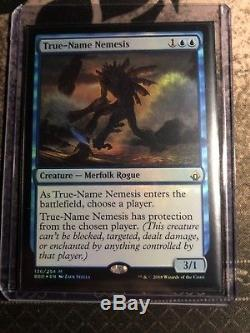 MTG NM True-Name Nemesis FOIL x1 Unplayed Instanty Double Sleeved Battlebond
