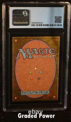 MTG Promo City of Traitors Exodus Foil Test Print CGC 8.5 Magic the Gathering