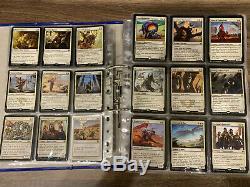 MTG Sammlung mit 1411 Rares inkl. Mappe und Foils ab 1995